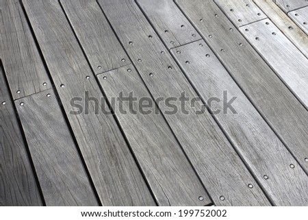 An Image of Wood Deck - stock photo