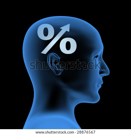 An index of intelligence - stock photo