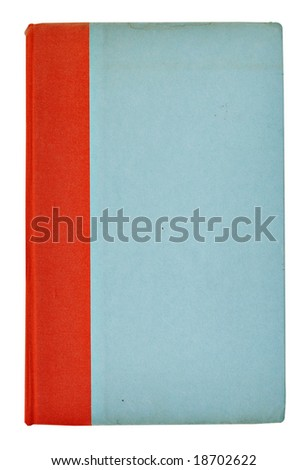 An old book with a blank cover ready for text. - stock photo