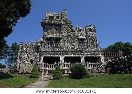 An old castle located in Connecticut.