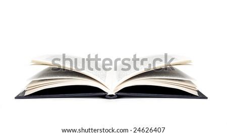 An open book - stock photo