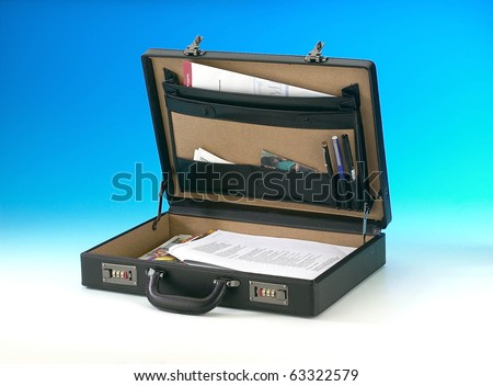 Open Briefcase Icon an Open Briefcase With