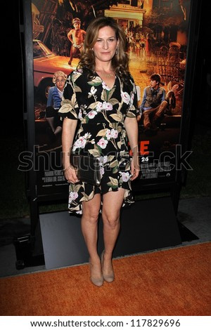 "Ana Gasteyer at the ""Fun Size"" Los Angeles Premiere, Paramount Studios, Hollywood, CA 10-25-12"