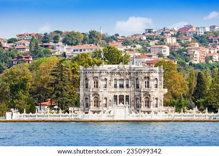 Anadolu Hisari (Anatolian Castle) in Istanbul, Turkey - stock photo