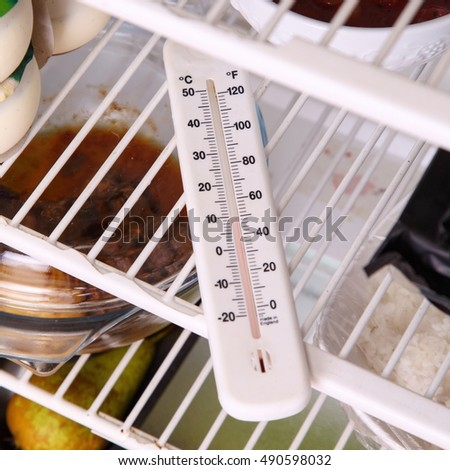 Analogue Thermometer in the Refridgerator