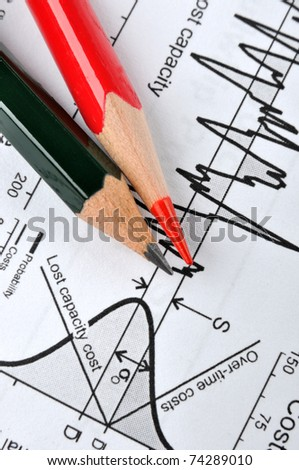Analysis for statistical process control - stock photo