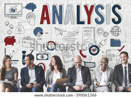 Analysis Information Insight Strategy Concept - stock photo