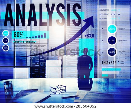Analysis Planning Data Information Business Concept - stock photo