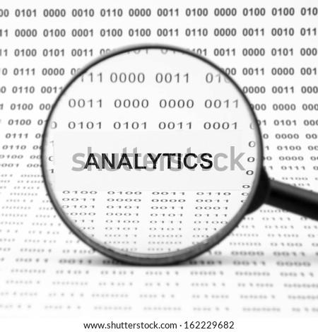 Analytics - stock photo
