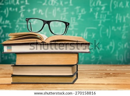 Analyze, bibliophile, bibliophilia. - stock photo