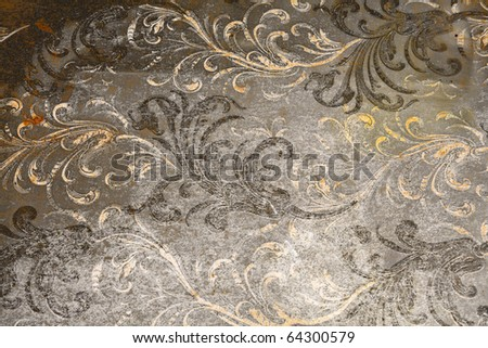 ancient background, vintage style stationery paper - stock photo
