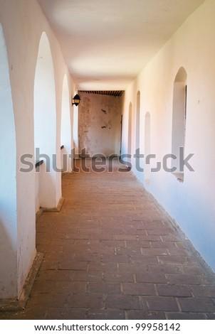 ancient castle - stock photo
