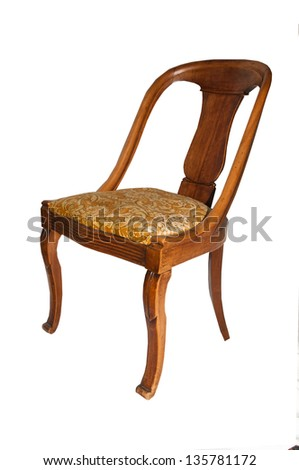 ancient chair from 18th century