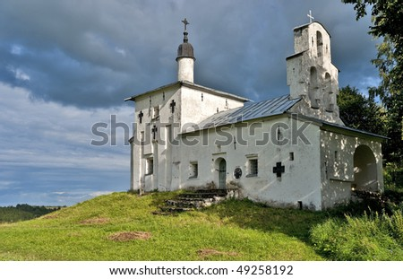 Ancient church on the hill