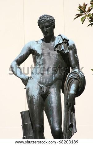 ancient Greek god - stock photo