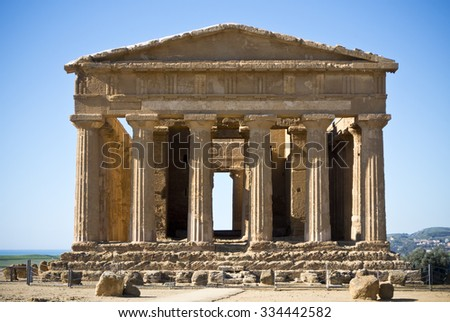 Ancient Greek Temple