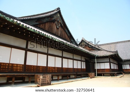 ancient japanese architecture kyoto stock photo royalty free