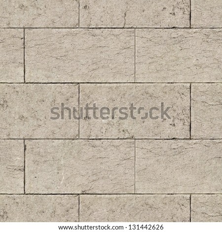 Ancient Marble Wall. Seamless Tileable Texture. - stock photo