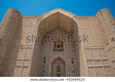 Ancient mosque - stock photo