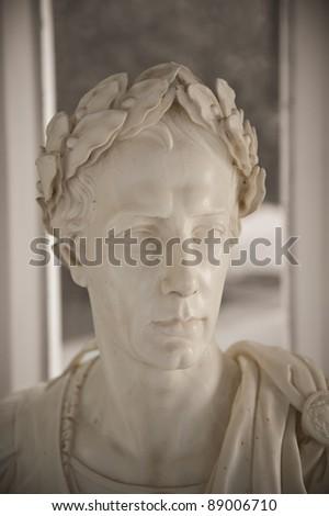Ancient roman sculpture - stock photo