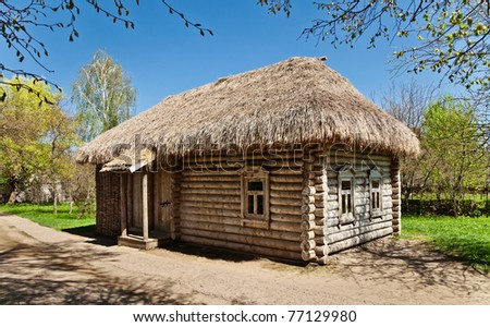 Huts Boothes In National Russian 3