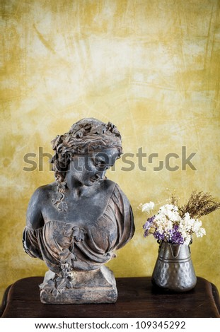 Ancient statue - stock photo