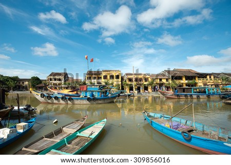 Ancient town of Hoi An, Vietnam - stock photo