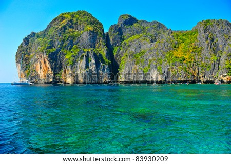 Andaman Sea,Thailand - stock photo