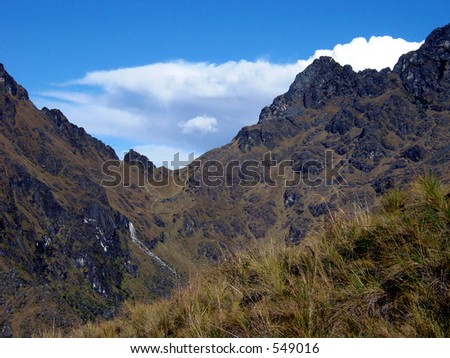 Andes - the Inca Trail