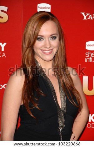 Andrea Bowen at the Us Weekly Hot Hollywood Style 2009 party, Voyeur, West Hollywood, CA. 11-18-09