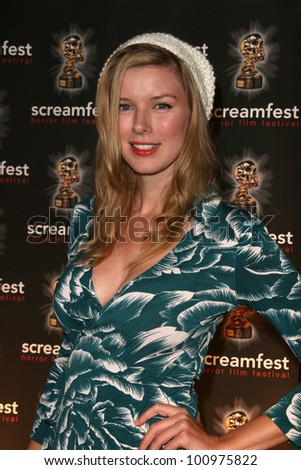 "Andrea Harrison at a screening of ""A Way With Murder"" at Screamfest, Chinese 6, Hollywood, CA. 10-15-10"