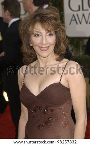 ANDREA MARTIN at the Golden Globe Awards at the Beverly Hills Hilton Hotel. 19JAN2003.  Paul Smith / Featureflash - stock photo