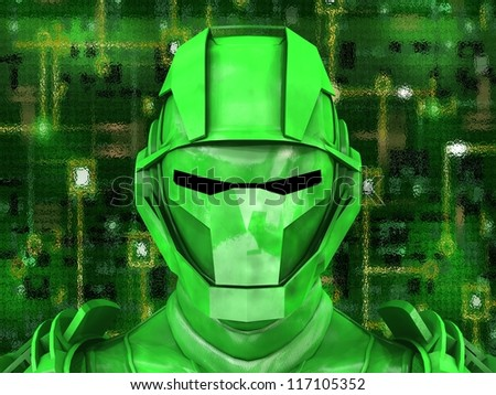 Android Reveals Internal Technology Of Their Electrical Circuit 14 - stock photo