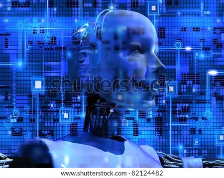 Android Reveals Internal Technology Of Their Electrical Circuit 02 - stock photo