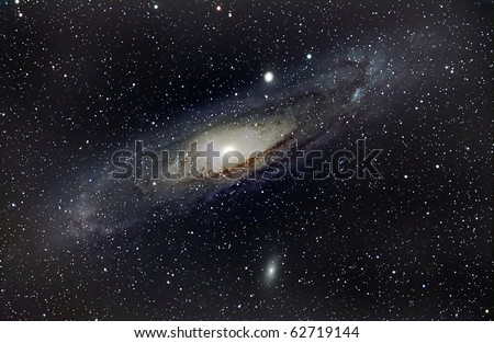 Andromeda Galaxy, M31 - stock photo