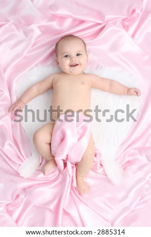 Angel Baby - stock photo