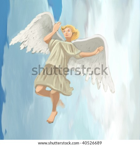 angel (search the word nikos for more) - stock photo