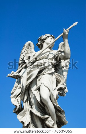 Angel Statue, Castel Sant'Angelo, Rome