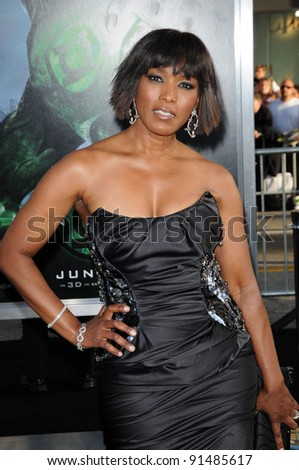 "Angela Bassett at the ""Green Lantern"" Los Angeles Premiere, Chinese Theater, Hollywood, CA. 06-15-11 - stock photo"