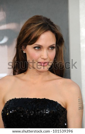 "Angelina Jolie at the ""Salt"" Los Angeles Premiere, Chinese Theater, Hollywood, CA. 07-19-10"