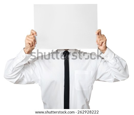 Anger, business, man. - stock photo