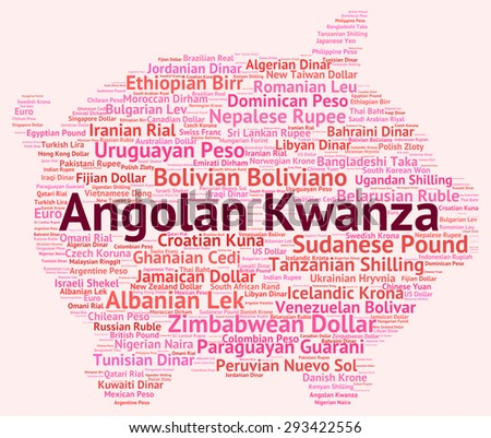 Angolan Kwanza Representing Foreign Exchange And Banknotes