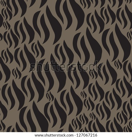 Animal print, zebra texture seamless background black and white colors - stock photo