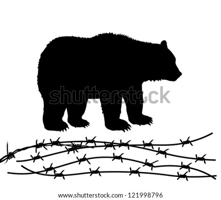 animals rights - stock photo