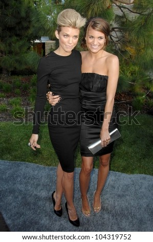 AnnaLynne McCord and Rachel McCord  at the 8th Annual Chrysalis Butterfly Ball, Private Residence, Los Angeles, CA. 06-06-09