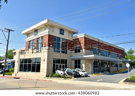 ANNAPOLIS, USA   MAY 27, 2016: The Mercedes Benz Of Annapolis Location