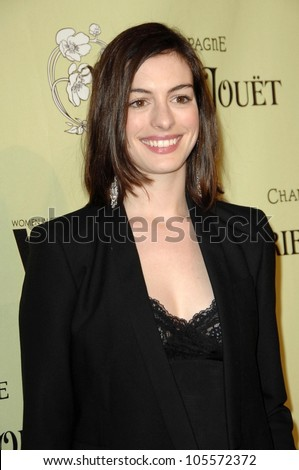 Anne Hathaway at the 2nd Annual Women In Film Pre-Oscar Cocktail Party. Private Residence, Bel Air, CA. 02-20-09