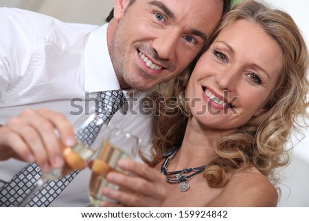Anniversary - stock photo