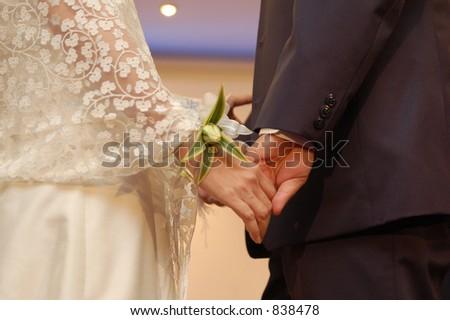 anniversary vows - stock photo