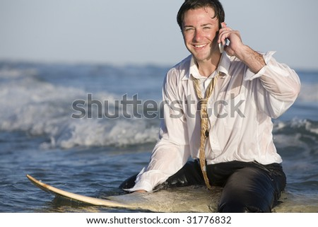 Another Day at the Office - stock photo
